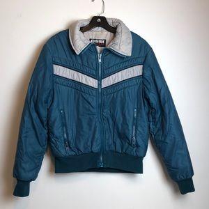 Vintage men's Ossi snow jacket ski coat medium